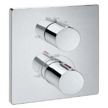 Grifería empotrada termostática baño/ducha T2000 Roca
